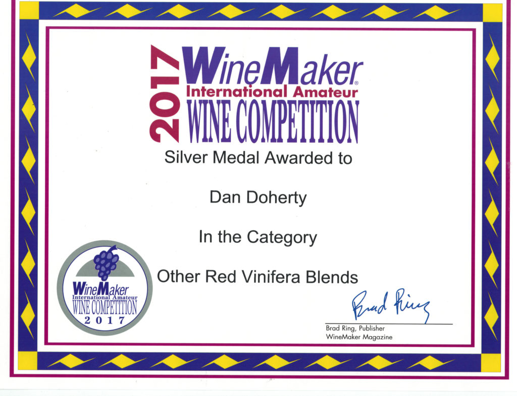 Winemaker international amateur wine